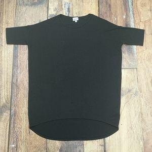 Lularoe 'Irma' Black Tunic Shirt Size XXS
